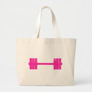 Hot Pink Weight Jumbo Tote Bag