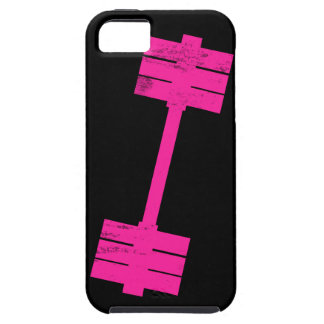 Hot Pink Weight iPhone 5 Cover