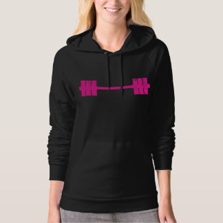 Hot Pink Weight Hoodie