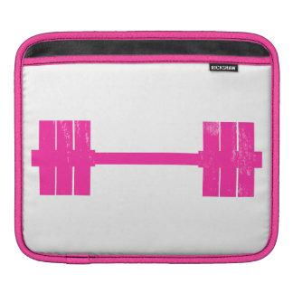 Hot Pink Weight iPad Sleeves