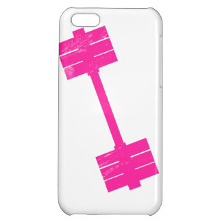Hot Pink Weight iPhone 5C Cases