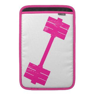 Hot Pink Weight MacBook Air Sleeve