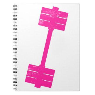 Hot Pink Weight Notebook