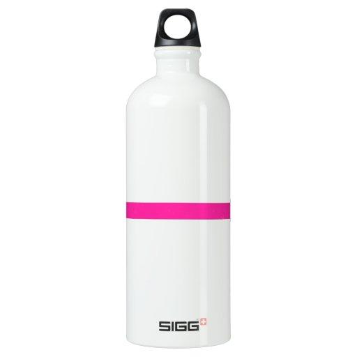 Hot Pink Weight Water Bottle
