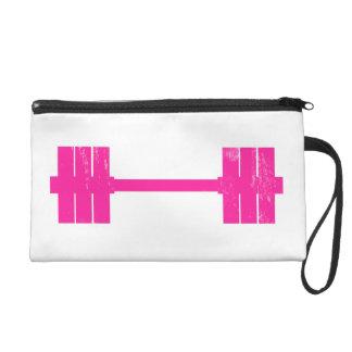 Hot Pink Weight Wristlet Purse