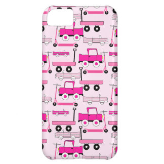 Hot Pink Wheels Vintage Cars Trucks Scooters Wagon iPhone 5C Cover