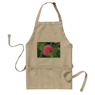 Hot Pink Wildflower Themed Apron