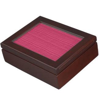 Hot Pink Wood Grain Color Accent Memory Box