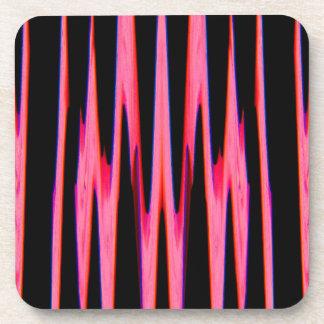 HOT PINK wrap (an abstract art design) ~ Coaster