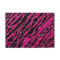 Hot pink zebra fur ipad powiscase iPad mini cover
