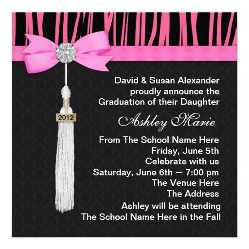 Homemade Graduation Invitation Ideas with nice invitation template