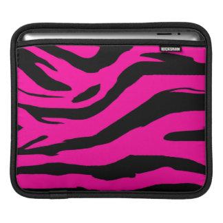 Hot Pink Zebra Print iPad Sleeve