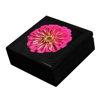 'Hot Pink Zinnea' Keepsake Boxes