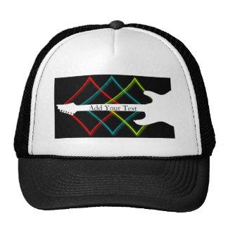 Hot Pop Color Guitar Business Trucker Hat