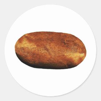 Hot Potato Classic Round Sticker