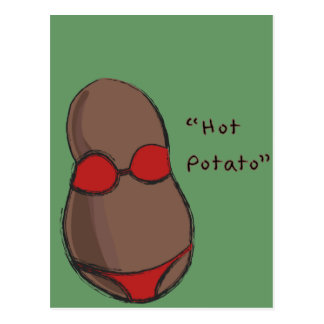 Hot Potato Postcard