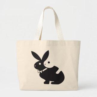 hot rabbit canvas bags