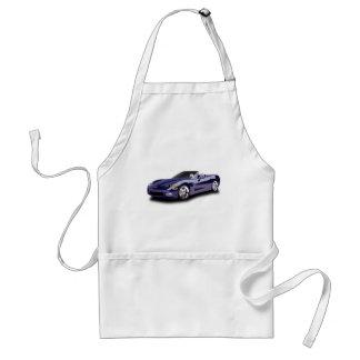 Hot Racing Car Adult Apron