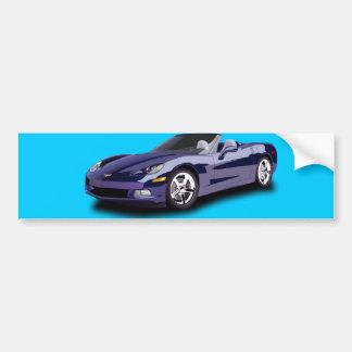 Hot Racing Car Bumper Sticker