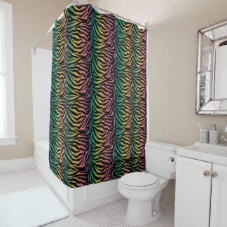 zebra pattern shower curtains zazzle