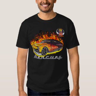 Hot Real Flame Merc-w/10yr logo T Shirt