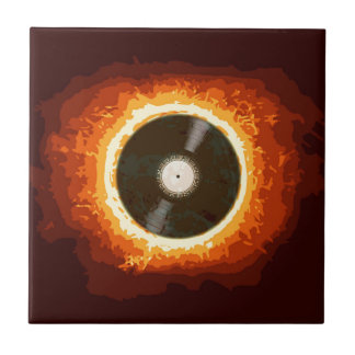 Hot Record Tile