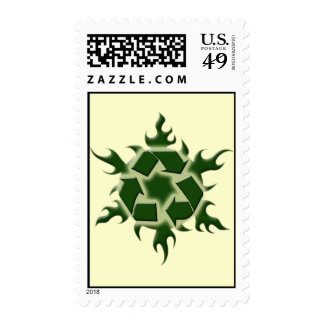 hot recycler postage stamps