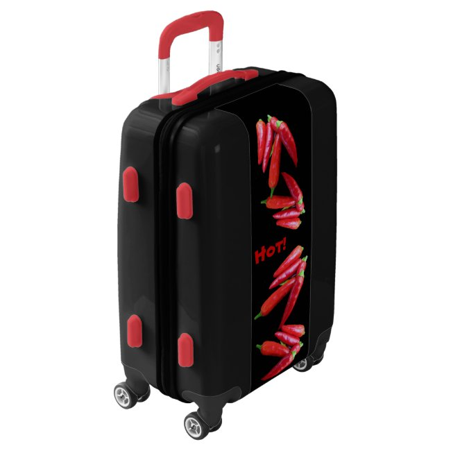 Hot Red Chili Peppers Luggage