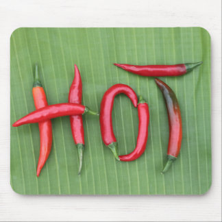 Hot Red Chillies Mouse Pad