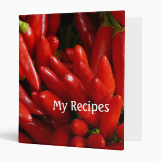 hot red chillies recipes binder