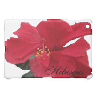 Hot Red Hibiscus Cover For The iPad Mini