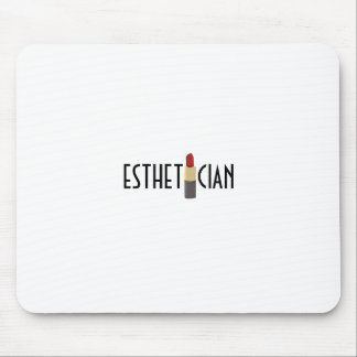 Hot Red Lipstick Mouse Pad