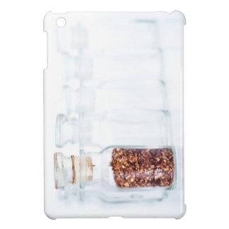 Hot Red Pepper Spice In a Glass Bottle iPad Mini Case
