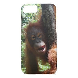 Hot Redhead a real animal iPhone 7 Case
