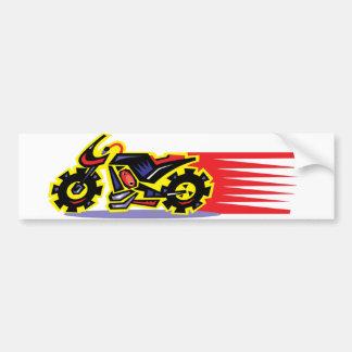 Hot Ride Motorcycle Bumper Sticker
