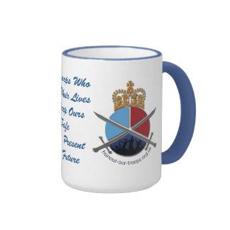 HOT Ringer Mug Blue