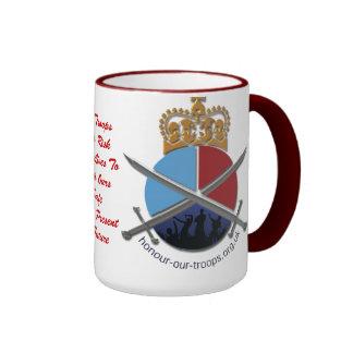 HOT Ringer Mug Red