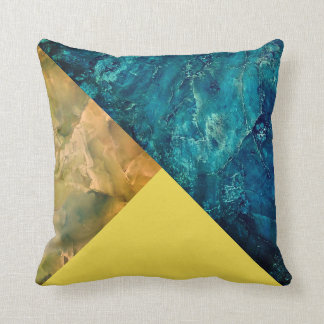Hot Rocks Pop of Color Triangle Statement Pillow