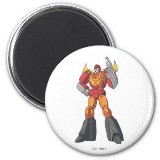 Hot Rod 1 2 Inch Round Magnet