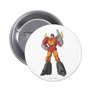 Hot Rod 1 Pinback Button