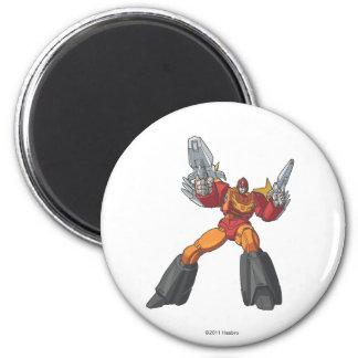 Hot Rod 2 2 Inch Round Magnet