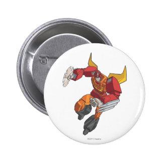 Hot Rod 3 Pinback Button