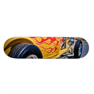 Hot Rod 6 Flame Job Deck Skate Board