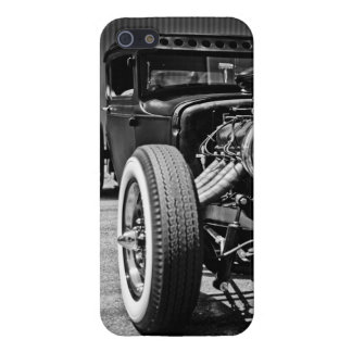Hot Rod Black and White iPhone5 Case