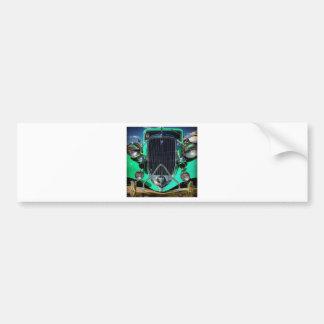 Hot Rod Bumper Sticker