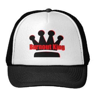 hot rod burn out king mesh hat