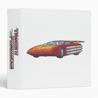 Hot Rod Car Mode Binder