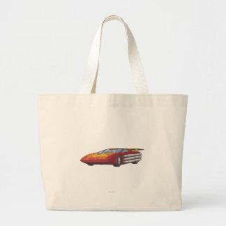 Hot Rod Car Mode Large Tote Bag