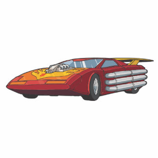 Hot Rod Car Mode Acrylic Cut Out
