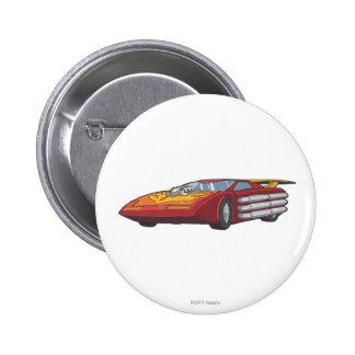 Hot Rod Car Mode Pinback Button